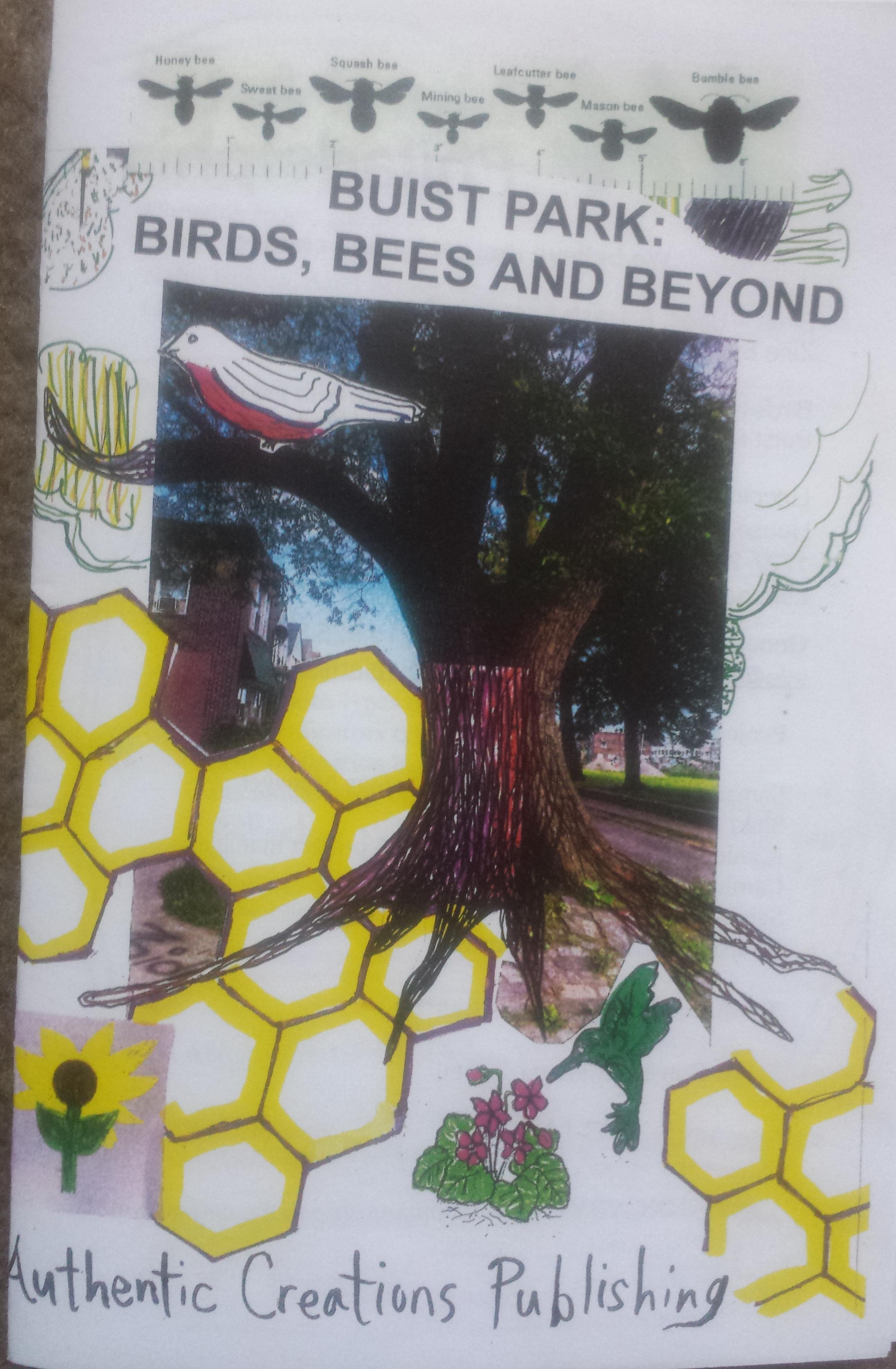 pollinator zine cover
