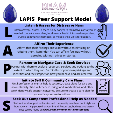 lapis peer support