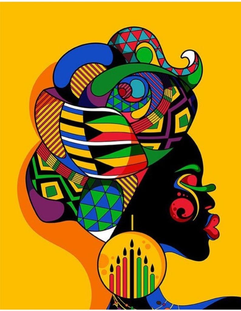 Pan-African Kwanzaa art