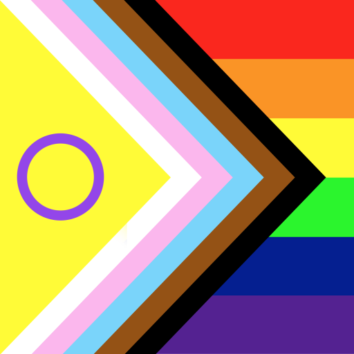 inter sex, trans, queer people of heritage colours and symbols