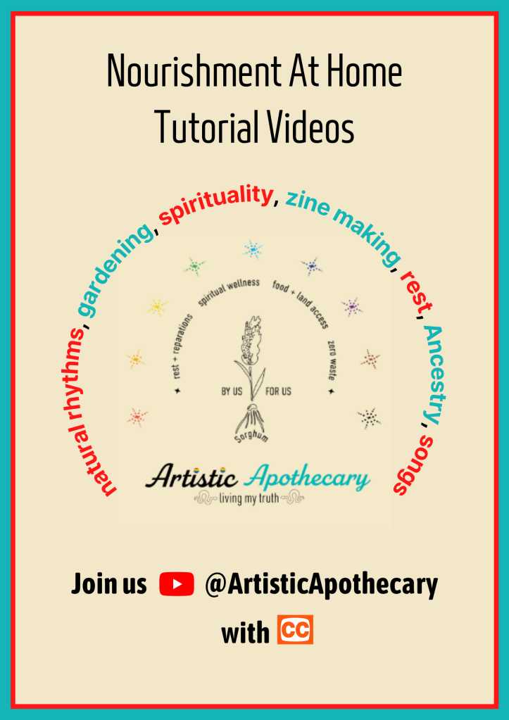 Mainy word archs outline our tutorial video themes in read and teal text.